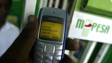 Les utilisateurs de l'e-monnaie MPesa n'ont même pas besoin d'avoir un smartphone.