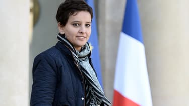 Najat Vallaud-Belkacem, l'ancienne ministre de l'Education nationale