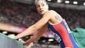 Ivana Spanovic a bien cru obtenir la médaille d'or mondiale au saut en longueur.