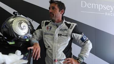 Patrick Dempsey participe aux 24 Heures du Mans.