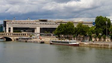 Vue du ministère de l'Economie et des Finances à Paris Bercy.