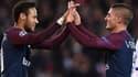 Neymar et Marco Verratti