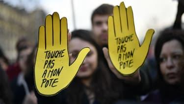Une manifestation contre le racisme à Paris le 18 février 2017 (photo d'illustration)