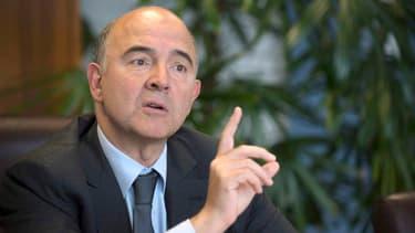 """Pierre Moscovici estime qu'une sanction budgétaire serait """"un échec"""" pour la Commission européenne."""