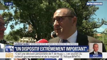 """Finale de la CAN: """"Tout sera fait pour contenir les troubles à l'ordre public"""", assure Laurent Nuñez"""