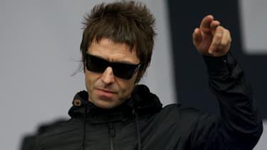 Liam Gallagher a participé au concert à Manchester, le 4 juin 2017