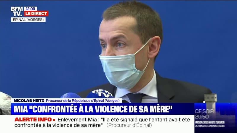 Disparition de Mia: le procureur d'Épinal n'a pas jugé