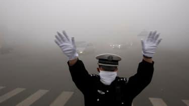La Chine est bloquée par la pollution