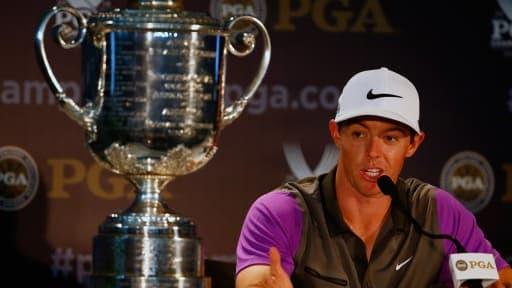 Rory McIlroy est le nouvel homme fort du golf mondial.