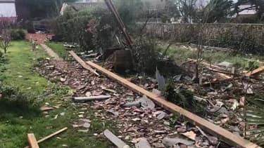 Une tornade de faible intensité s'abat à Gironde-sur-Dropt - Témoins BFMTV