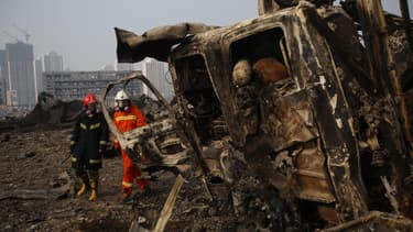 La catastrophe de Tianjin a fait plus de 100 morts.
