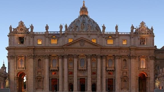 La Basilique Saint Pierre, au Vatican.
