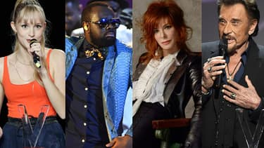 Angèle, Maître Gims, Mylène Farmer et Johnny Hallyday figurent dans le top 20 des albums vendus en France en 2018.