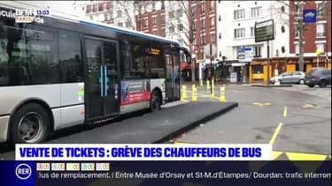 RATP: les chauffeurs de bus en grève ce lundi contre la reprise de la vente des tickets à bord