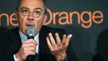 """Fin 2011, le PDG d'Orange, Stéphane Richard s'était insurgé contre la décision de Bruxelles qui, selon lui, était """"absurde""""."""
