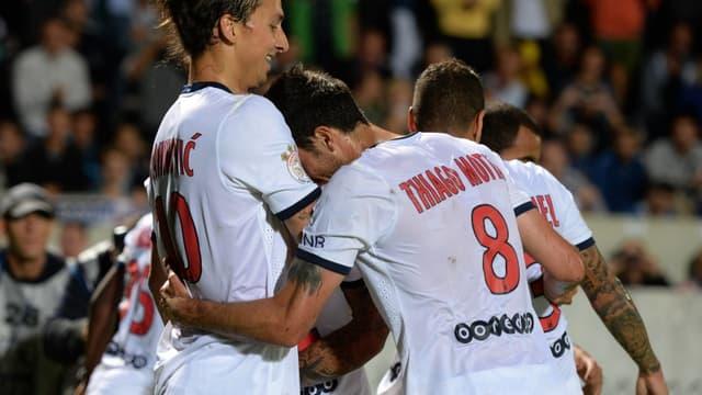 Zlatan Ibrahimovic et Thiago Motta