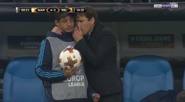 Manu et Rudi Garcia