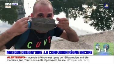 Masque obligatoire: la confusion règne encore à Paris