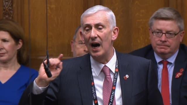 Le nouveau speaker de la Chambre des communes.