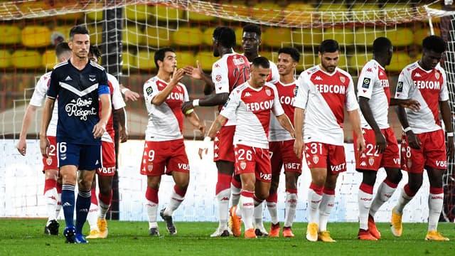 Monaco face à Bordeaux