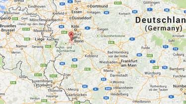 Une bombe de la Seconde Guerre mondiale a explosé à Euskirchen, près de Cologne en Allemagne.