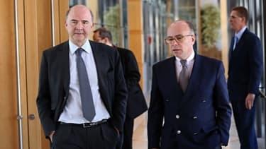 Les relations entre Pierre Moscovici et Bernard Cazeneuve se sont dégradées.