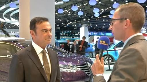 Carlos Ghosn voit une croissance de 1% du marché français pour 2014.