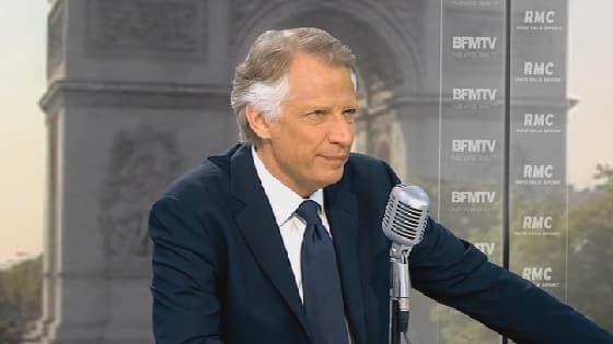 Dominique de Villepin, ex-Premier ministre, le 24 juillet 2014.