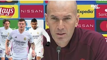 """Real Madrid : """"J'ai les meilleurs joueurs"""", Zidane encense son effectif"""