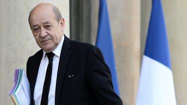 Le ministre de la Défense Jean-Yves Le Drian, le 22 mars 2016.