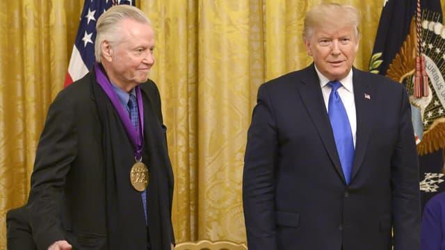 Jon Voigt et Donald Trump