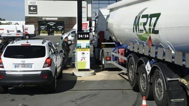 La grève des transporteurs de carburant pourraient avoir des répercussions dans les stations essence.