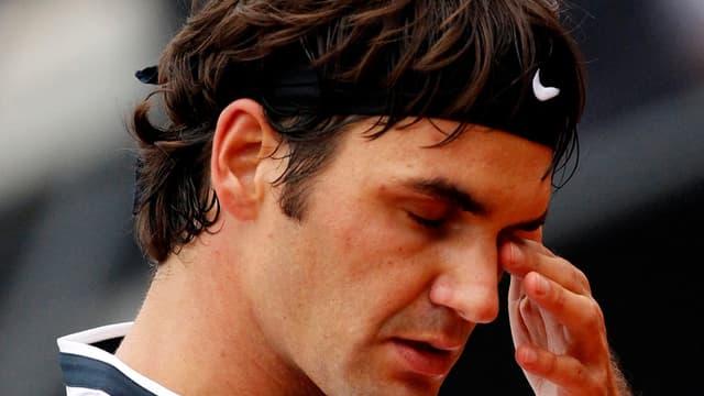 Roger Federer va participer au double à Rome pour se remettre de cet échec