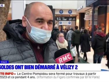 Yvelines: à Vélizy 2, les soldes d'hiver ont bien démarré