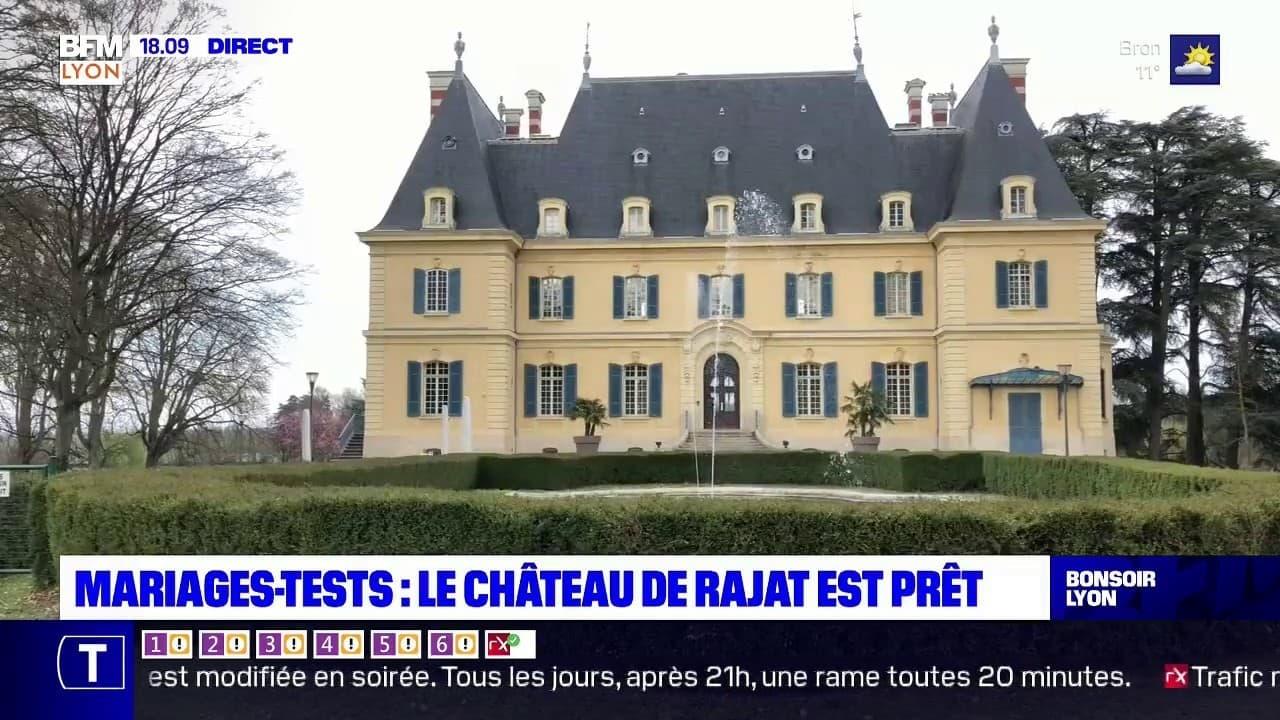 Mariages-tests : le château de Rajat est prêt