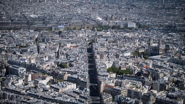 Vue de la ville de Paris (photo d'illustration)