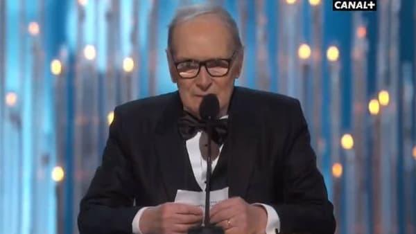 Ennio Morricone remporte son premier Oscar