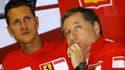 Michael Schumacher et Jean Todt en 2006