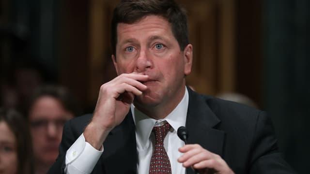 Jay Clayton, président de la SEC.