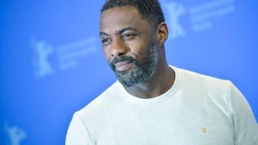 Idris Elba à Berlin, le 22 février 2018