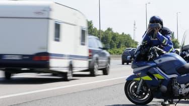Un jeune homme de 16 ans a été intercepté sur l'autoroute A6. Il venait de réaliser un excès de vitesse de 160 km/h, alors qu'il n'avait pas le permis. (Photo d'illustration)
