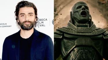 """Oscar Isaac et son personnage dans """"X-Men: Apocalypse"""""""
