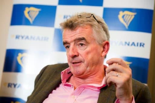 Le directeur général de Ryanair Michael O'Leary à Bruxelles le 26 septembre 2018