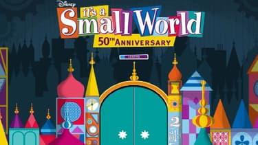 """L'attraction """"It's a small World"""" de Walt Disney fête ses 50 ans le 10 acril 2014."""