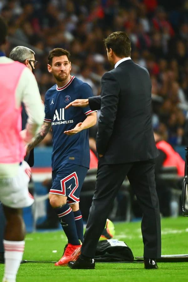 Lionel Messi et Mauricio Pochettino