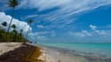 Une plage en Martinique.