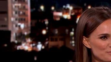 Natalie Portman dans le talk-show de Jimmy Kimmel