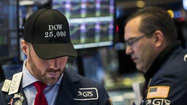 La volatilité à l'oeuvre mardi en début de séance à Wall Street
