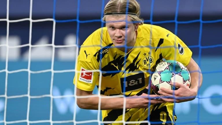 Mercato: Haaland réclamerait un salaire XXL pour quitter Dortmund - RMC Sport