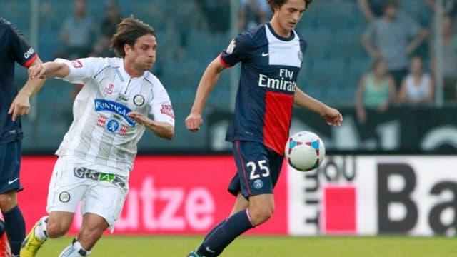 Adrien Rabiot sous le maillot du PSG